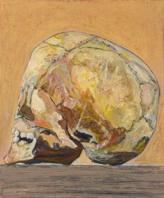 GOLDEN SKULL - 2010 - oil on canvas - 60x50 cm