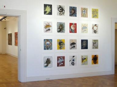 Marja de Raadt - FLORALIA . Gorcums Museum 2.4. - 11.9. 2016 B