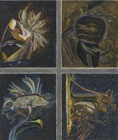 Marja de Raadt 2016 -ICOON II - gem. techniek op papier - 80x68 cm