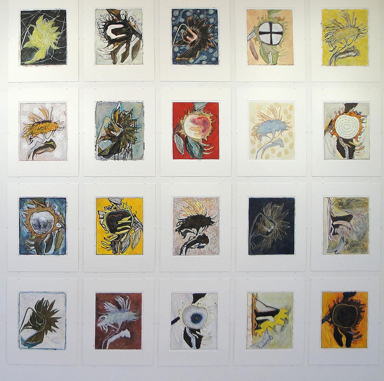 Marja de Raadt - FLORALIA - Gorcums Museum 2.4. - 11.9. 2016 A