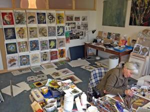 Marja's atelier